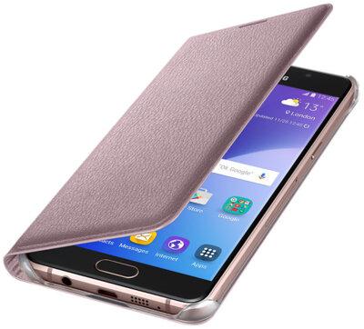 Чохол Samsung Flip Wallet EF-WA510PZEGRU Pink Gold для Galaxy A5 (2016) 2