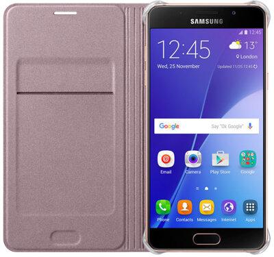 Чохол Samsung Flip Wallet EF-WA510PZEGRU Pink Gold для Galaxy A5 (2016) 3