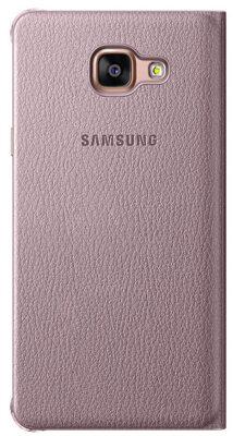 Чохол Samsung Flip Wallet EF-WA510PZEGRU Pink Gold для Galaxy A5 (2016) 4