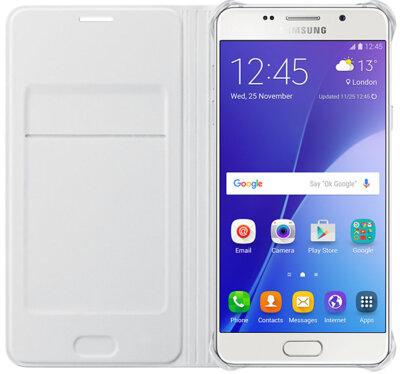 Чохол Samsung Flip Wallet EF-WA510PWEGRU White для Galaxy A5 (2016) 3