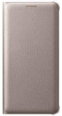 Чехол Samsung Flip Wallet EF-WA510PFEGRU Gold для Galaxy A5 (2016) 1