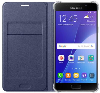 Чохол Samsung Flip Wallet EF-WA510PBEGRU Black для Galaxy A5 (2016) 2