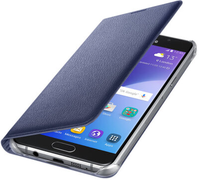 Чохол Samsung Flip Wallet EF-WA510PBEGRU Black для Galaxy A5 (2016) 3