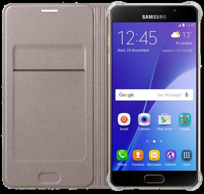 Чохол Samsung Flip Wallet EF-WA310PFEGRU Gold для Galaxy A3 (2016) 2