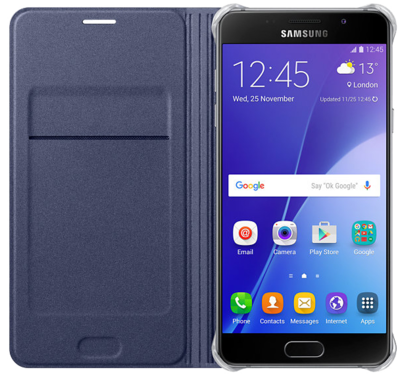 Чохол Samsung Flip Wallet EF-WA310PBEGRU Black для Galaxy A3 (2016) 2