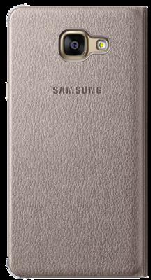 Чохол Samsung Flip Wallet EF-WA310PFEGRU Gold для Galaxy A3 (2016) 3