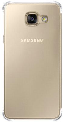 Чехол Samsung Clear View EF-ZA510CFEGRU Gold для Galaxy A5 (2016) 4