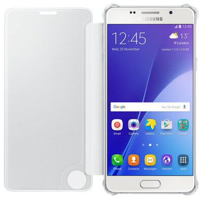 Чехол Samsung Clear View EF-ZA510CSEGRU Silver для Galaxy A5 (2016) 2