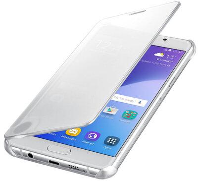 Чехол Samsung Clear View EF-ZA510CSEGRU Silver для Galaxy A5 (2016) 3