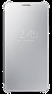Чехол Samsung Clear View EF-ZA710CSEGRU Silver для Galaxy A7 (2016) 1