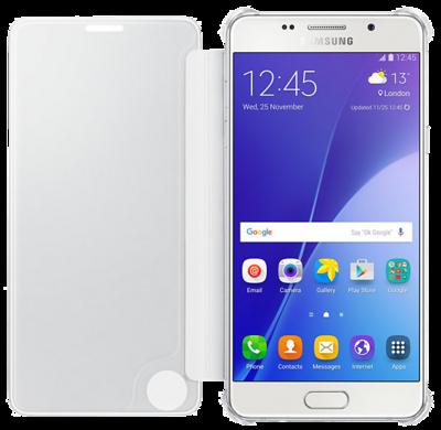 Чехол Samsung Clear View EF-ZA710CSEGRU Silver для Galaxy A7 (2016) 2
