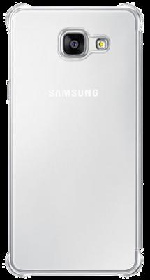 Чехол Samsung Clear View EF-ZA710CSEGRU Silver для Galaxy A7 (2016) 3