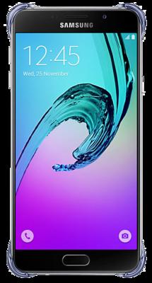 Чехол Samsung Clear Cover EF-QA710CBEGRU Black для Galaxy A7 (2016) 3