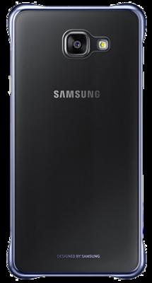 Чехол Samsung Clear Cover EF-QA710CBEGRU Black для Galaxy A7 (2016) 4