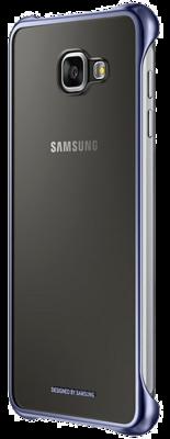 Чехол Samsung Clear Cover EF-QA710CBEGRU Black для Galaxy A7 (2016) 5