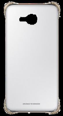 Чехол Samsung Clear Cover EF-QA710CFEGRU Gold для Galaxy A7 (2016) 2