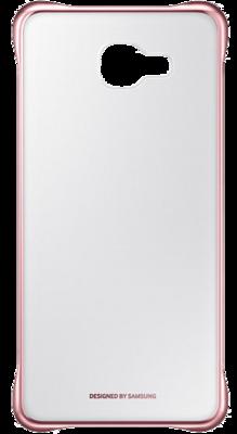 Чохол Samsung Clear Cover EF-QA710CZEGRU Pink Gold для Galaxy A7 (2016) 1