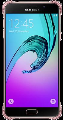 Чохол Samsung Clear Cover EF-QA710CZEGRU Pink Gold для Galaxy A7 (2016) 3