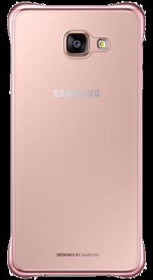Чохол Samsung Clear Cover EF-QA710CZEGRU Pink Gold для Galaxy A7 (2016) 4