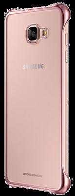 Чохол Samsung Clear Cover EF-QA710CZEGRU Pink Gold для Galaxy A7 (2016) 5