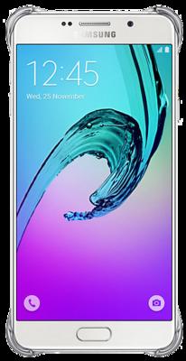 Чохол Samsung Clear Cover EF-QA710CSEGRU Silver для Galaxy A7 (2016) 3