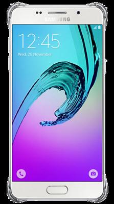 Чохол Samsung Clear Cover EF-QA310CSEGRU Silver для Galaxy A3 (2016) 3