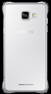 Чохол Samsung Clear Cover EF-QA310CSEGRU Silver для Galaxy A3 (2016) 4