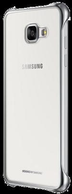 Чохол Samsung Clear Cover EF-QA310CSEGRU Silver для Galaxy A3 (2016) 5