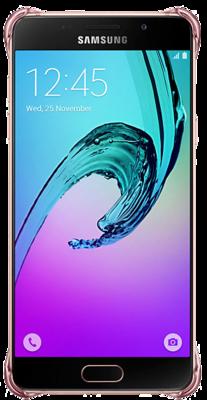 Чохол Samsung Clear Cover EF-QA310CZEGRU Pink Gold для Galaxy A3 (2016) 3