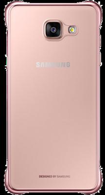 Чохол Samsung Clear Cover EF-QA310CZEGRU Pink Gold для Galaxy A3 (2016) 4