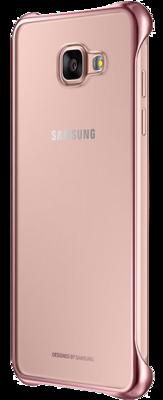 Чохол Samsung Clear Cover EF-QA310CZEGRU Pink Gold для Galaxy A3 (2016) 5