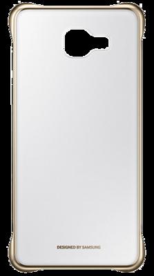 Чохол Samsung Clear Cover EF-QA310CFEGRU Gold для Galaxy A3 (2016) 1
