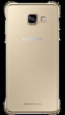 Чохол Samsung Clear Cover EF-QA310CFEGRU Gold для Galaxy A3 (2016) 4