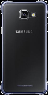 Чохол Samsung Clear Cover EF-QA310CBEGRU Black для Galaxy A3 (2016) 4