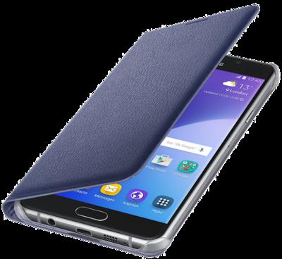 Чехол Samsung Flip Wallet EF-WA710PBEGRU Black для Galaxy A7 (2016) 3