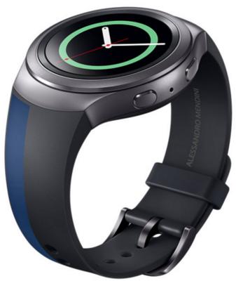 Ремешок Samsung ET-SRR72MLEGRU Black-Blue 3