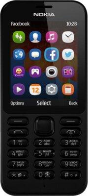 Мобільний телефон Nokia 222 DS Black 1