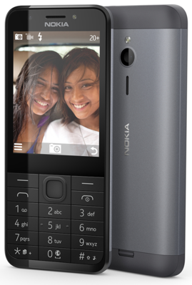 Мобільний телефон Nokia 230 DS (A00026971) Dark Silver 2