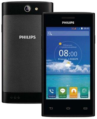 Смартфон Philips S309 Black 3