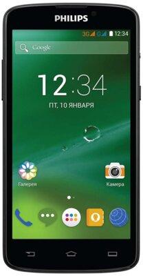 Смартфон Philips Xenium V387 Black 1