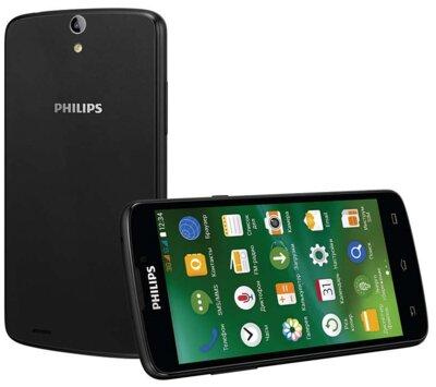 Смартфон Philips Xenium V387 Black 2