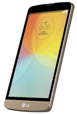 Смартфон LG D335 Optimus L Bello Dual Sim Black Gold 3