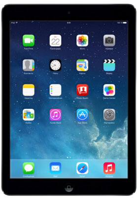 Планшеты Apple iPad Air A1474 Wi-Fi 16GB Space Gray 1