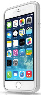 Чохол ITSkins Heat for iPhone 6 Silver 2