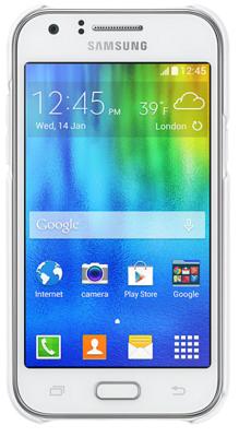 Чехол Samsung EF-PJ100BWEGRU White для Galaxy J1 3