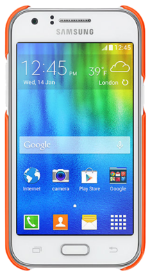 Чехол Samsung EF-PJ100BOEGRU Orange для Galaxy Galaxy J1 3