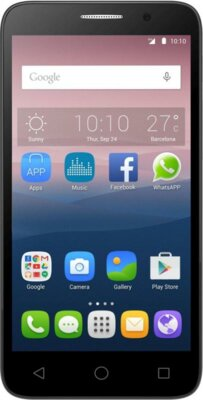 Смартфон Alcatel OneTouch Pop 3 5025D Silver 1