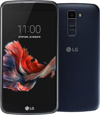 Смартфон LG K410 K10 Black-Blue 2