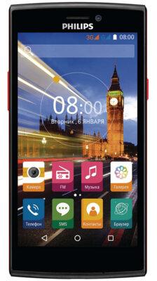 Смартфон Philips S337 Black-Red 1