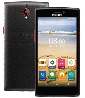 Смартфон Philips S337 Black-Red 2